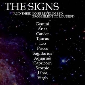 Noise Levels Zodiac Signs And Zodiac On Pinterest