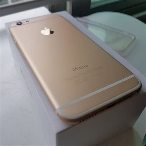 Used Iphone 6 Used Mg4j2zp A Iphone 6 Gold 64gb Mobile Phones