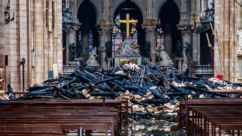 notre dame   fire   aftermath   york