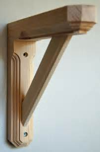 wooden wood shelf bracket design pdf plans