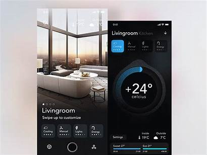 Smart App Concept Dribbble Kit Ui Tars
