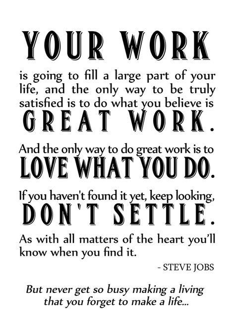 Steve Jobs On Work Quotes. QuotesGram