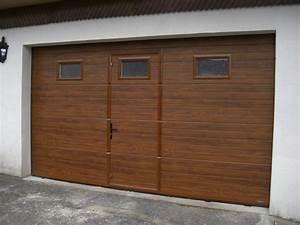 Porte De Garage Bois : portes de garage lecuyer stores ~ Melissatoandfro.com Idées de Décoration