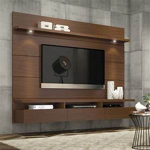 Entertainment Center Modern TV Stand Media Console Wall ...