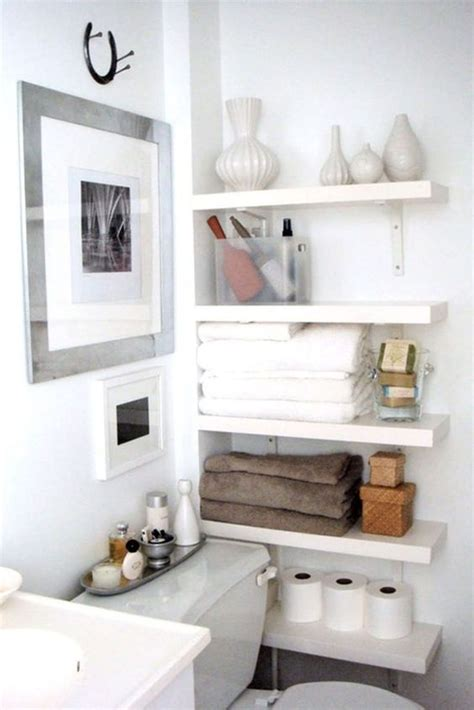 ideas for bathroom shelves 15 comfy ideas to store towels in your bathroom shelterness