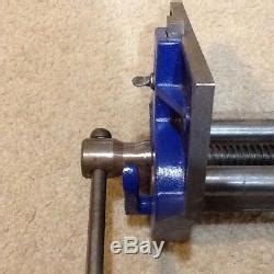 original record     england woodworking vise