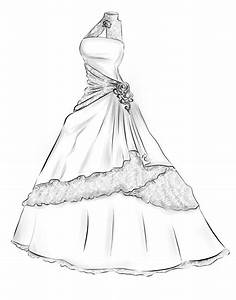 dress designs drawings google search designs With how to draw a wedding dress