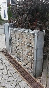 Bilder Kaufen Günstig : doppelpfosten gabione mit abdeckleiste gabione ~ Buech-reservation.com Haus und Dekorationen