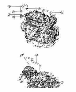 Chrysler Pacifica Hose  Pcv Valve To Intake Manifold