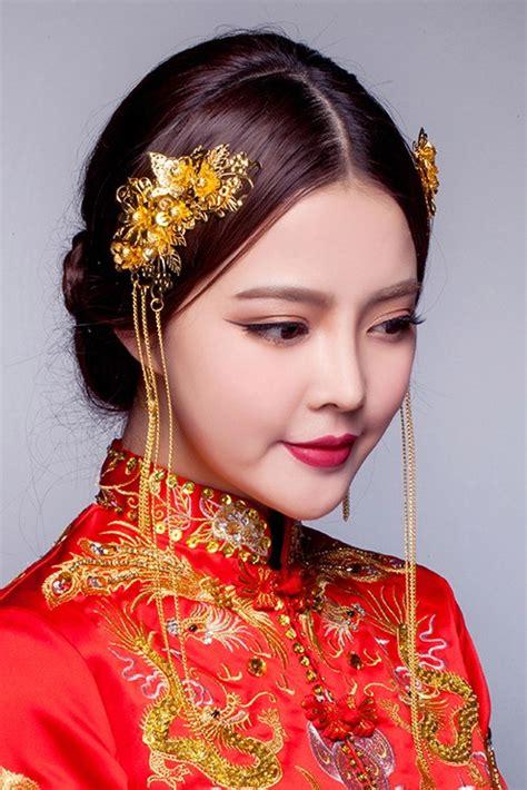 top chinese bridal hair fascinators jewellery accessories