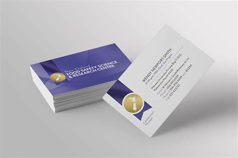 New Zealand Food Safety Business Card Design Milton Keynes Houston Gold Coast Gmail Letterhead Letters Emails Spacing Cards Black Letter No Name