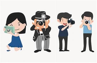 Poses Cameras Photographers Different Dinheiro Ganhar Fotografi