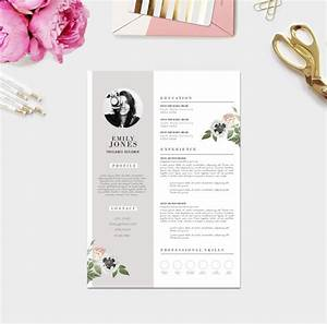 11 dazzling creative resume templates With feminine resume template