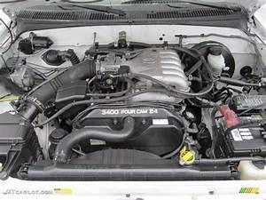 2003 Toyota Tacoma V6 Prerunner Double Cab Engine Photos