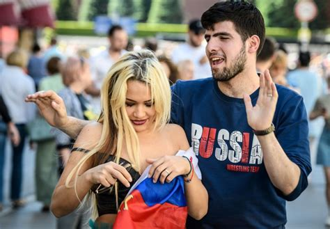 Sex Soccer And Sexism Russian Nationalists Threaten Women