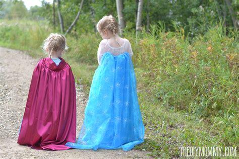 frozen elsa anna costume tutorials patterns onlinefabricstore net blog