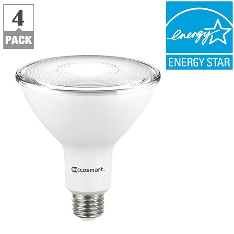 ecosmart 90w equivalent bright white par38 dimmable led