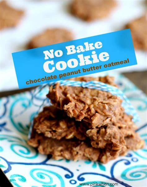 no bake cookie recipe no bake cookies pinkwhen
