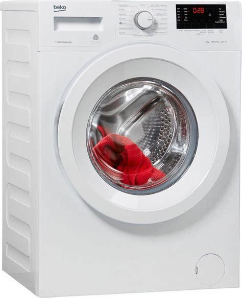beko waschmaschine auf werkseinstellung zurücksetzen beko waschmaschine wmy 71633 ptle a 7 kg 1600 u min kaufen otto