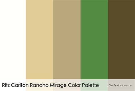 Color Palettes  Chic Productions
