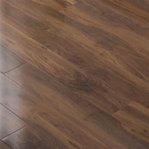walnut gloss laminate flooring bevelloc walnut effect gloss plank laminate flooring