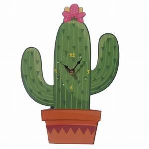Cactus Shaped Picture Clock 17639 Puckator Ltd