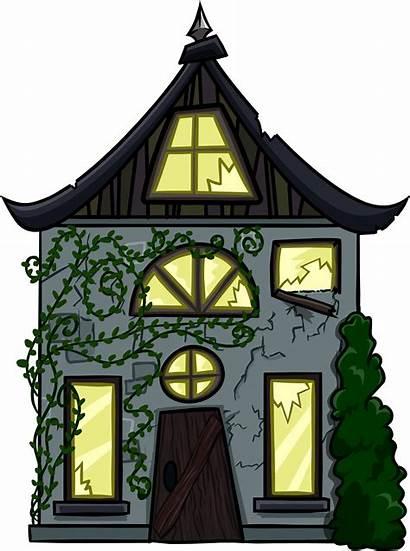 Creepy Cottage Cut Wikia Penguin Clubpenguin Pixels