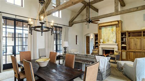 dining rooms  exposed beams home design lover