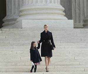 Ivanka Trump, Daughter Visit the Supreme Court