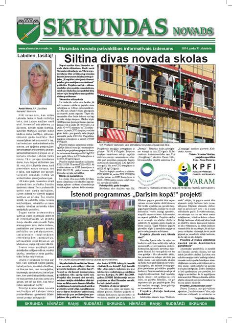 Skrundas novads novembris 2014 by Skrundas novads - Issuu