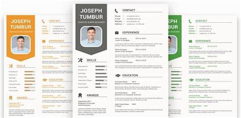 Ya, barangkali template ini sudah sering dipakai dan bikin hrd bosan dengan tampilannya. Contoh Desain CV Kreatif dan Menarik Format Doc - omndo.com