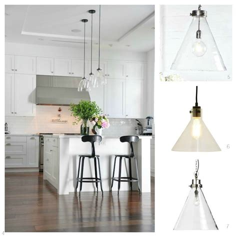 glass pendant lights   kitchen diy decorator