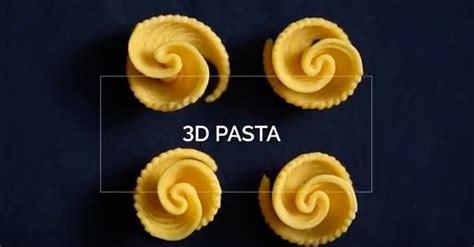 Nudeln aus dem 3DDrucker von Barilla  Update Design