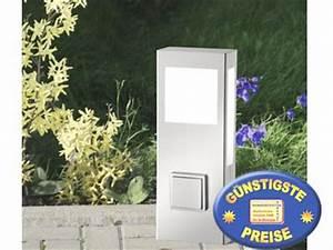 Wegeleuchte Mit Steckdose : wegeleuchte mit steckdose 39 st aqua paulo kurz aus edelstahl cmd aussenlampen ~ Eleganceandgraceweddings.com Haus und Dekorationen