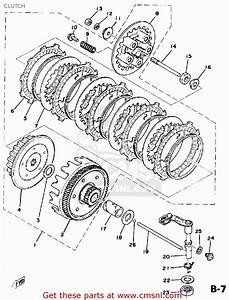 Yamaha Dt125 1978 Usa Clutch