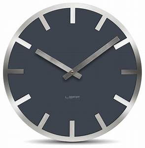 Metlev wall clock grey index modern clocks