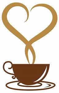 Steam clipart coffee heart - Pencil and in color steam ...