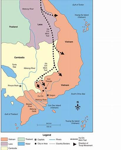 Vietnam Chi Iron Triangle Cu Ho Minh
