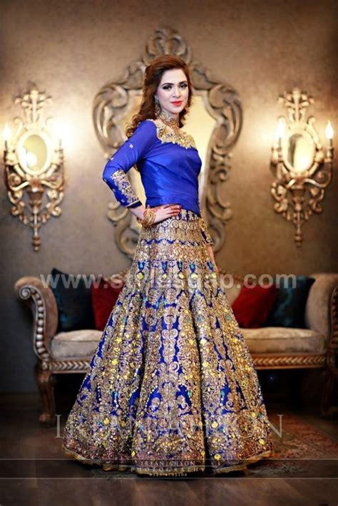 bridal lehenga dresses designs styles 2017 2018