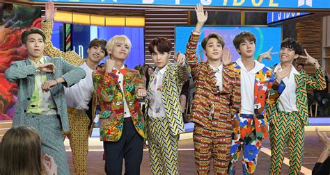 Bts Make 'good Morning America' Debut