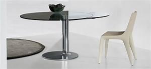 Table Ronde Extensible Design : mobilier de bureau design table ronde extensible plinto mobilier de bureau entr e principale ~ Teatrodelosmanantiales.com Idées de Décoration