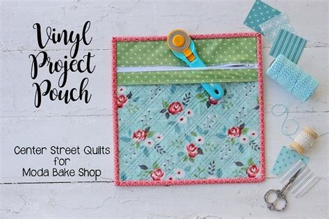 tutorial clear front project zip pouch sewing