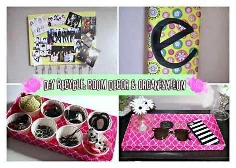 Diy Room Decor/organization Ideas For Spring! Recycling