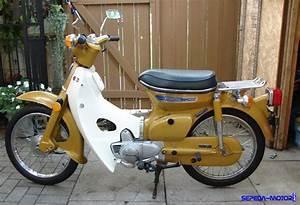 Honda C70  Embrio Motor Bebek Produksi Honda