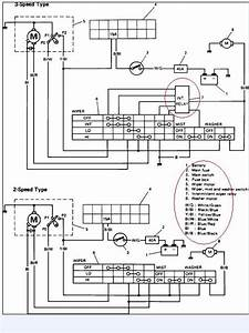 For A Wiper Wiring Diagram For A 1991 Suzuki Vitara Thanks