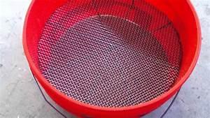 Homemade Bucket Gold Classifier