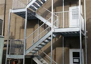 nos realisations de cages d39escaliers metal gilles allard With cage d escalier exterieur