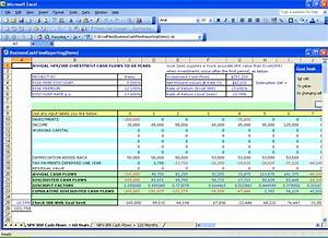 Excel financial templates net present value npv for Npv excel template