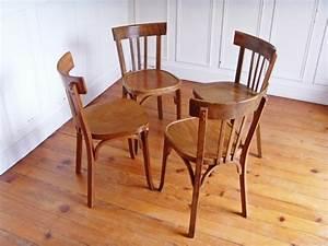 Chaise De Bistrot Bois : chaise de bar baumann style and steel jpg chaises tabourets lampes luminaires eclairages ~ Teatrodelosmanantiales.com Idées de Décoration