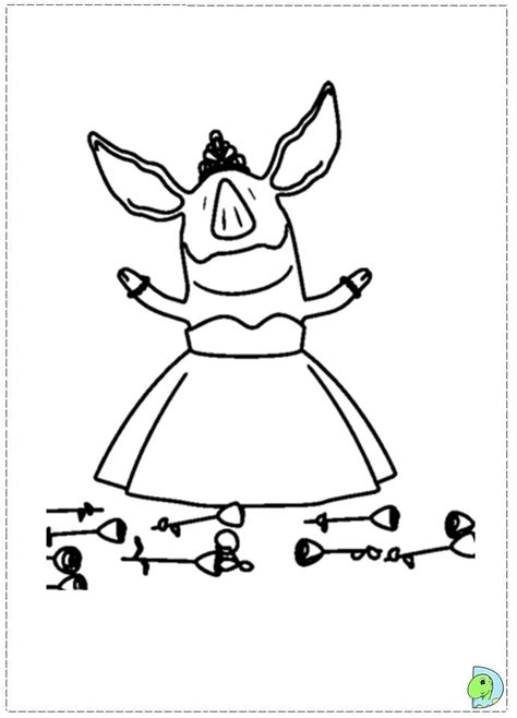 The Pig Coloring Pages The Pig Coloring Page Coloring Pages